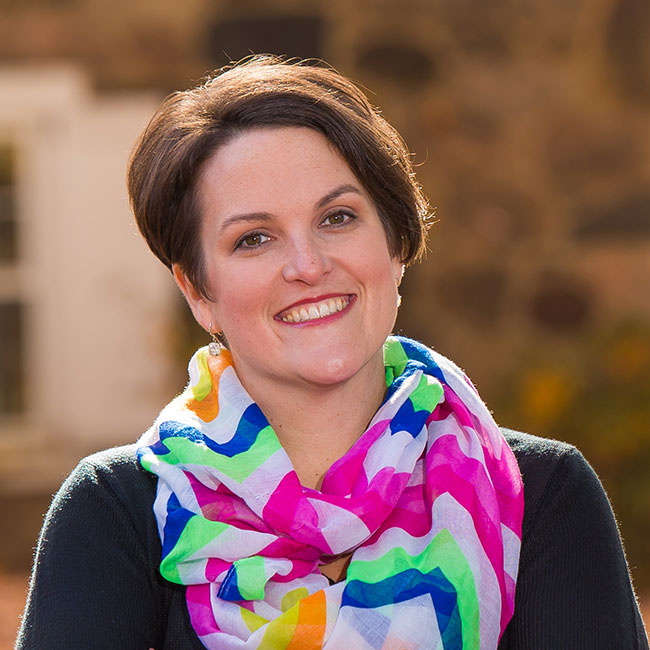 Jenny Poff, freelance graphic designer, PA