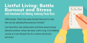 Listful Living: Battle Burnout and Stress Event