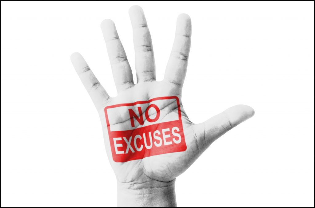 Accountability, No Excuses