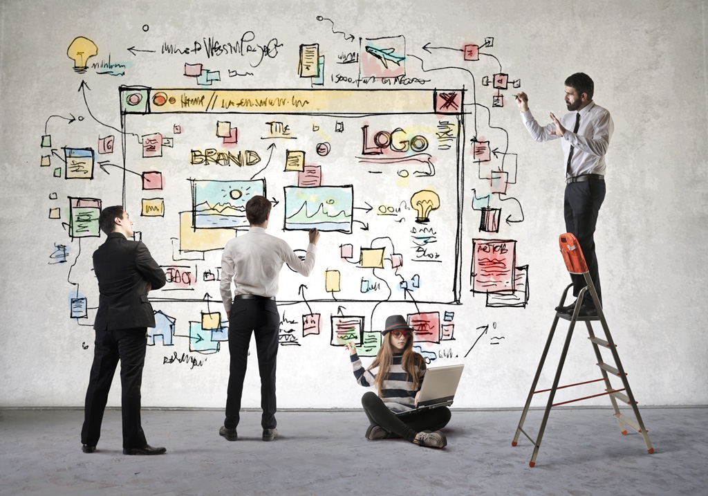team work web design